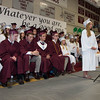 Desi Smith/Staff photo.  Class Saluatatorian Lydia Sweetsern delivers the Opening Address during the 2016 Graduation Ceremony held at Rockport High School Friday night.    June 3,2016  Rockport Graduation Ceremony