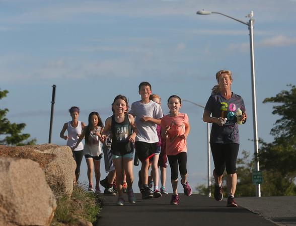 West Parish Students Train for Fiesta 5K Race