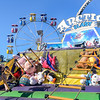 AMANDA SABGA/ Staff photo <br /> <br /> Anna Lombardo, 12 of Ipswich, tries her luck on a climbing game at the Fiesta Shows carnival during the annual Gloucester St. Peter's Fiesta<br /> <br /> <br /> 6/22/16