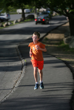 West Parish Students Train for Fiesta 5K Race
