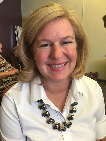 RAY LAMONT/Staff photo<br /> Jodi Gennodie of Danvers is Beeman Memorial School's new principal.