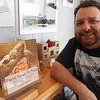 """SEAN HORGAN/Staff photo/Justin Demetri, a Gloucester freelance writera and visitors service director at the Essex Shipbuilding Museum, has published """"From Head to Tale: Historic Seafood Recipes Through the Ages."""""""