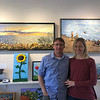 MARY MARKOS/Staff photo<br /> Stefan Mierz and Kathleen Miller are hosting a fifth anniversary celebration at their gallery, Art Nook at 58 Bearskin Neck in Rockport, this Saturday from 4 to 7 p.m.