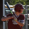 MIKE SPRINGER/Staff photo<br /> Gloucester's Jake MacKillop waits for a pitch during Division 3 North baseball quarterfinals Monday against Dracut in Gloucester. Dracut won 3-2.<br /> 6/11/2018