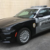 ANDREA HOLBROOK/Staff photo/Essex's new $48,000 Dodge Charger Pursuit police cruiser hit the road this week.