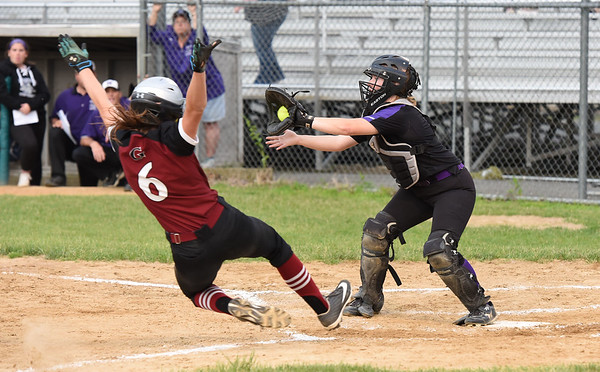 Gloucester Vs Norton softball