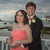 DESI SMITH/Staff photo.  Courtney Macdougall and her date Marco Incanpo pose for a photo after arriving at Tucks Point Friday afternoon for prom night .  May 30 ,2014