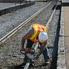 MBTA Railroad Work at Washington Street