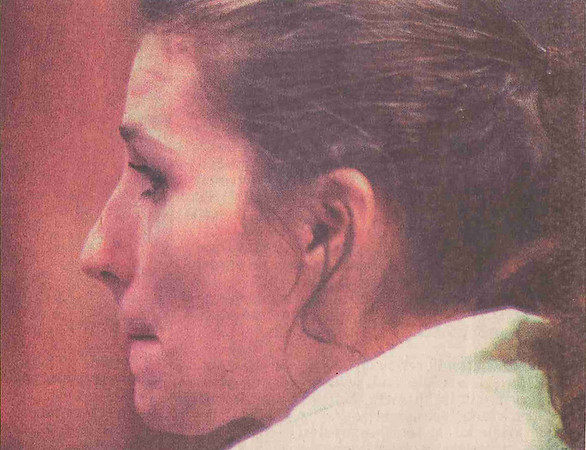 "JOSH REYNOLDS/Staff file photo<br /> Barbara Goucher pleads guilty to the second-degree murder of Florence ""Bunny"" Munroe in July 1999."