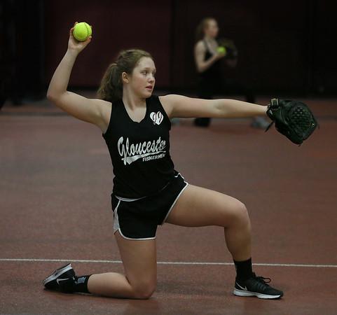 GHS Softball Practice