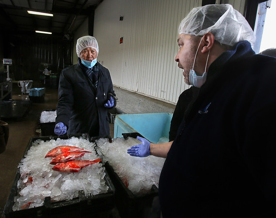 Fish Industry Delegation Visits Gloucester
