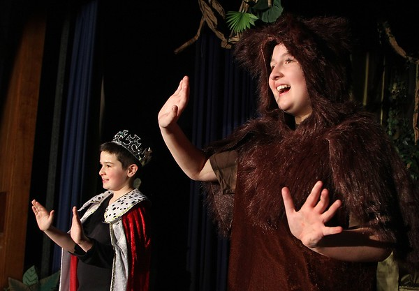 'The Jungle Book' Rehearsal at East Gloucester School