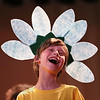 "MIKE SPRINGER/Staff photo<br /> Jack Cummins sings a song during a rehearsal Tuesday for the fifth-grade play, ""The Grunch,"" at Manchester Memorial Elementary School. Inspired by ""The Grinch Who Stole Christmas,"" ""The Grunch"" is about a jealous boy who decides to steal the sets, costumes and lights the night before the school musical opens. All 72 Memorial school fifth graders have roles in the play, which will be performed Thursday at 4 p.m., and Friday and Saturday at 7 p.m. Admission is $10.<br /> 2/27/2018"