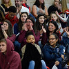 Gloucester family members cheer on their team at the 2018 Winter Cheerleading State Championship at Whitman Hanson Regional High School in Hanson, MA on Sunday March 11, 2018.  JOSEPH PREZIOSO/Photo