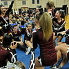 State Cheerleading Competition for Monday sports centerpiece