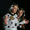 "MIKE SPRINGER/Staff photo<br /> Tasara Frontiero, left, and Ally LoPiccolo play Patch and Lucky, a pair of dalmation puppies, in the fifth-grade musical ""101 Dalmations"" at West Parish Elementary School in Gloucester. The play, which is being staged by the entire fifth-grade class in either acting or technical roles, is directed by Heidi Dallin. Musical direction is by Helen Greene. The play will be presented to the public on Tuesday, Wednesday and Thursday, Feb. 27 through March 1, at 7 p.m. Admission is free, with a suggested donation of $5.<br /> 2/26/2018"