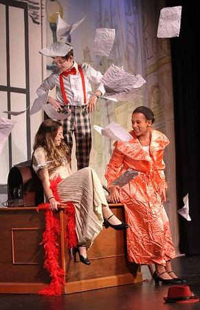 Rockport middle schoolers rehearsing for spring musical later in week