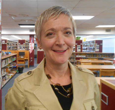 RAY LAMONT/Staff photo<br /> Deborah Holman is headmaster of Brookline High, essentially its principal, a post she has since 2012. She is a finalist for the Gloucester High principal's job.