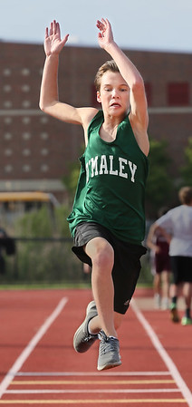 NEC Middle School Boys Track Meet