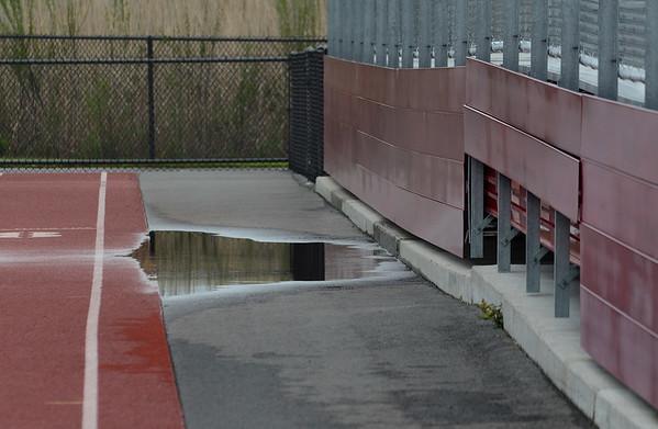 Newell Stadium Track Buckling