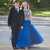 Desi Smith Photo.       Ryan Tremblay of Rockport and his date Amy Davison of Danvers, head into Rockport High School for the pre-prom promendade Friday night.   May 18,2018