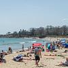 AMANDA SABGA/Staff photo<br /> <br /> Beachgoers enjoy the warm weather at Singing Beach.<br /> <br /> 5/2/17