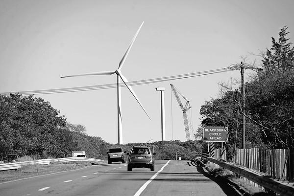 Wind Turbine Blades down