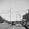 Wind Turbine Blades down