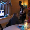 HADLEY GREEN/ Staff photo<br /> Supporters for Allison Gustavson, the Democrat challenging state Rep. Brad Hill, gather at 1640 Hart House in Ipswich to watch the election results. <br /> <br /> 11/06/2018 [[MER1811062129594340]]