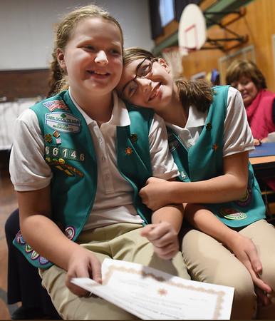 Bronze Junior Girl Scouts