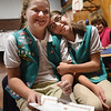 Bronze Junior Girl Scouts