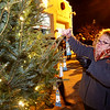 Lighting of the Memory Tree, in Honor of Lost Loved Ones,