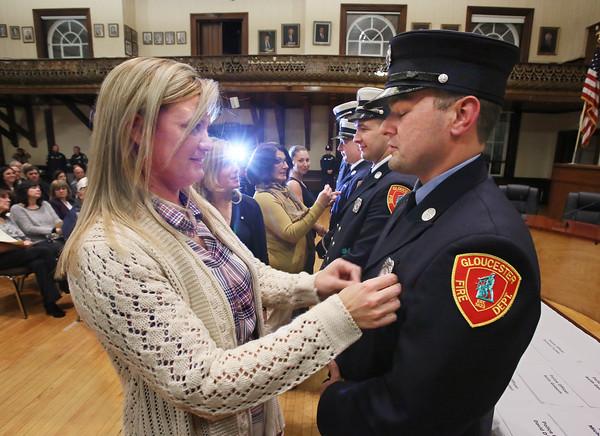 Badge Ceremony