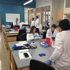 SEAN HORGAN/Staff photo<br /> Gloucester Biotechnology Academy students work in one of the schools' labs.