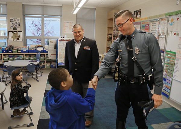 Veterans Visit Schools