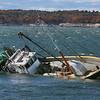 Boat Runs Aground