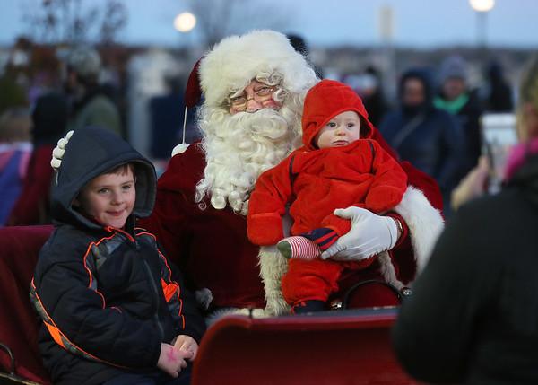 Santa Parade and Tree Lighting