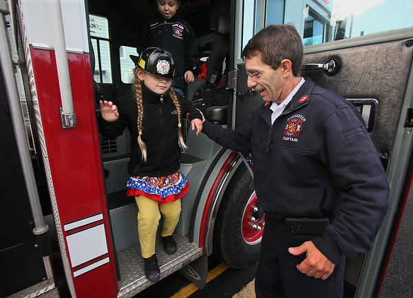 A Fire Truck Ride to School