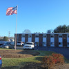 SEAN HORGAN/Staff photo/Gloucester Healthcare will soon have an American flag indoors, so its residents, including veterans, will not have to go out or look through a window to salute the flag.