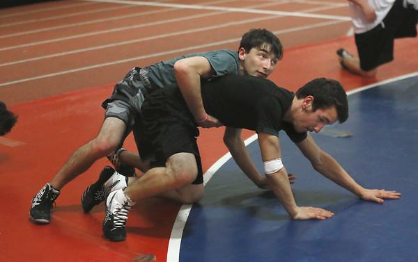 GHS Wrestling Practice