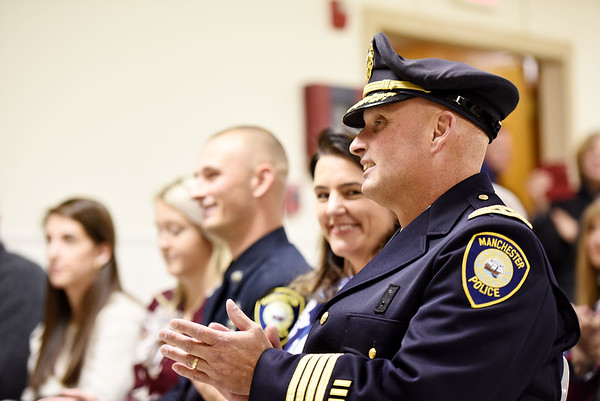 Swearing in of Police Chief Todd Fitzgerald.