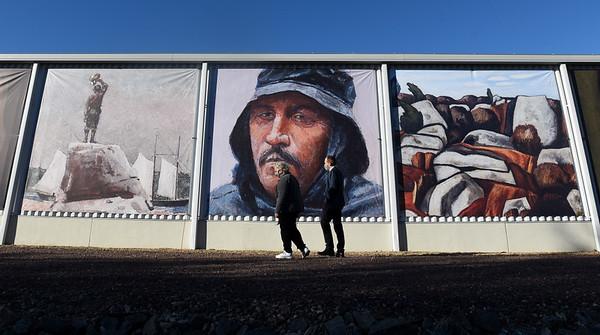 New Murals on Cape Ann Mueum Green