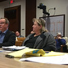 CHRISTIAN M. WADE/CNHI photo/Richard Buckley,left, a member of the nonprofit Massachusetts Coalition of Families and Advocates, talks to lawmakers about the death of his brother, David, in a West Peabody group home 17 years ago. He was joined by Anna Eves, the group's vice president, and Thomas Frain, president.