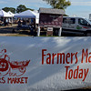 RYAN HUTTON/ Staff photo<br /> The Cape Ann Farmer's Market at Stage Fort Park in Gloucester on Thursday.
