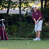 RYAN HUTTON/ Staff photo<br /> Rockport's Will Cahill, 13, watches his putt ake its way toward the hole on the eighth green of the Essex Country Club during the Old Cape Ann Classic on Thursday.