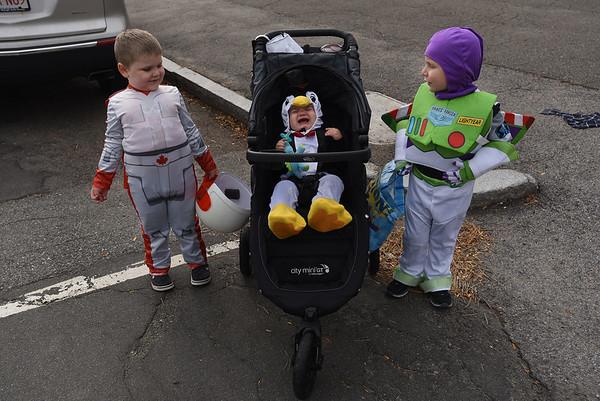 Halloween toddler parade