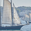 A Schooner ship in Gloucester, Sunday, September 2, 2018. Jared Charney / Photo
