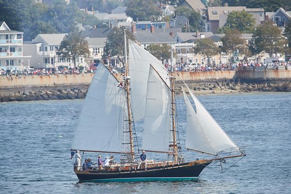 A Schooner ship in Gloucester, Sunday, September 2, 2018. Jared Charney / Photo