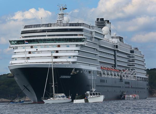 Zuiderdam Cruise Ship Visits Gloucester
