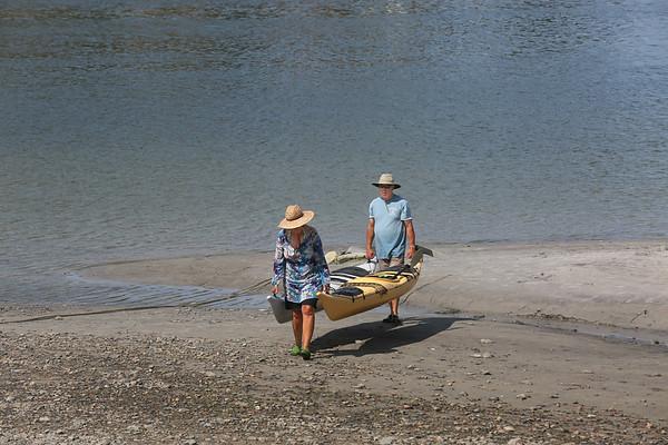 Carrying Kayaks